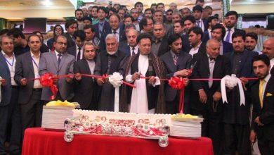 تصویر از نخستین نمایشگاه صنعت پلاستیک در کابل به همت انجمن ملی پلاستیک و پلیمر آغاز به کار کرد
