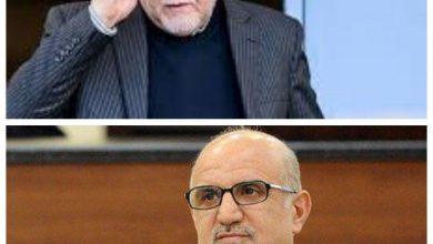 تصویر از وزیر نفت و معاون او در امور پتروشیمی تحریم شدند