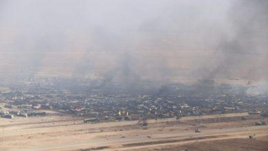 تصویر از در پی آتش سوزی در گمرک اسلام قلعه/ وزیر صنعت و تجارت افغانستان: ستون تجارت افغانستان فلج شد